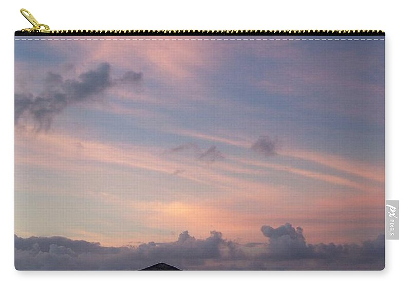 Ocean Carry-all Pouch featuring the photograph Caribbean Sunrise by Gale Cochran-Smith