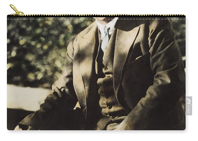 20th Century Carry-all Pouch featuring the photograph Carl G. Jung by Granger