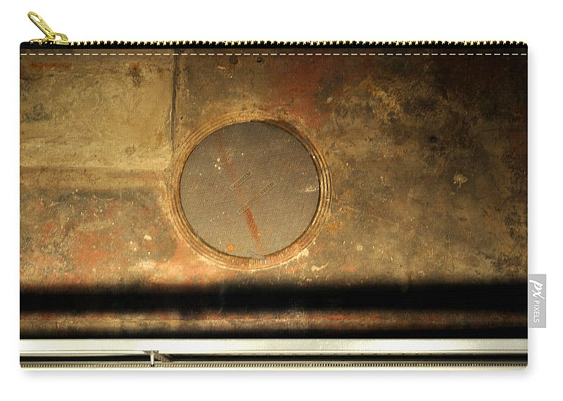 Manhole Carry-all Pouch featuring the photograph Carlton 15 - Square Circle by Tim Nyberg