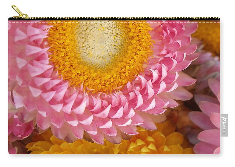 Flower Carry-all Pouch featuring the photograph Carmel Flower by Sarah Madsen