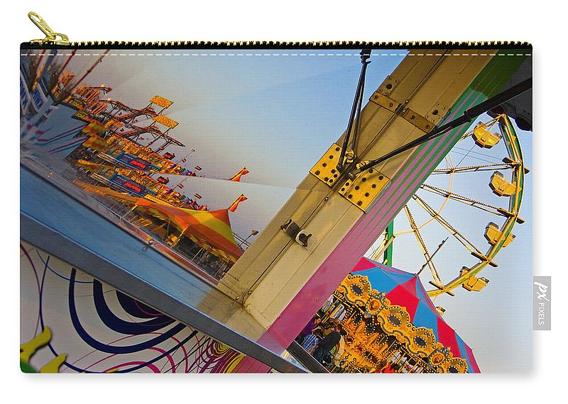 Carnival Carry-all Pouch featuring the photograph Carnival 1 by Skip Hunt
