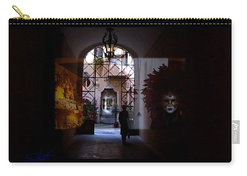 Dream Carry-all Pouch featuring the photograph Carnival by Charles Stuart