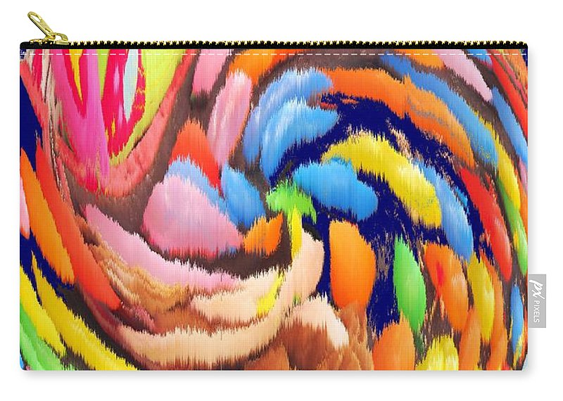 Carnival Carry-all Pouch featuring the photograph Carnival by Ian MacDonald