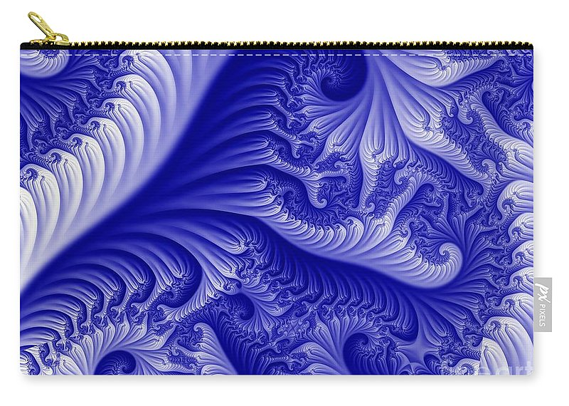 Carolitic Carry-all Pouch featuring the digital art Carotic State by Ron Bissett
