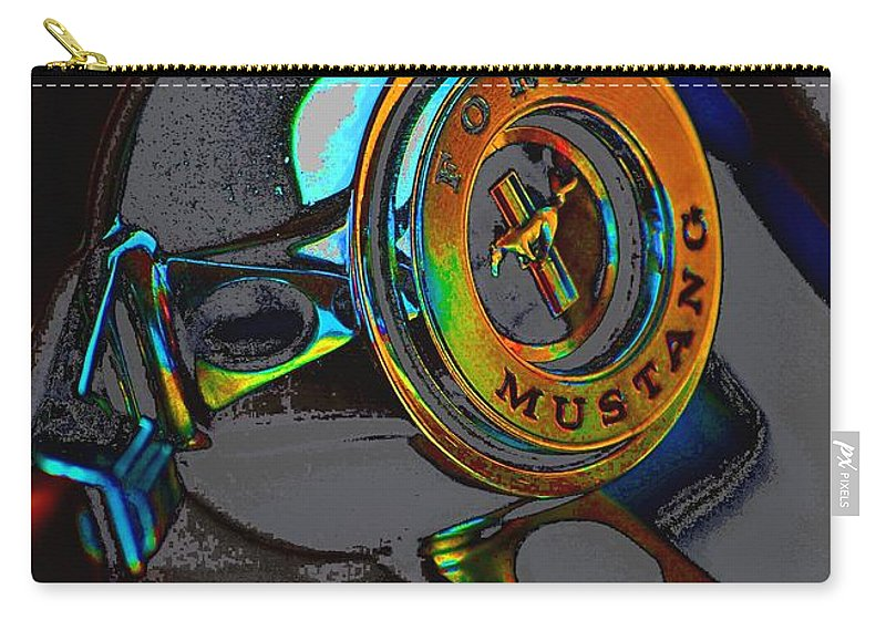 Carousel Carry-all Pouch featuring the photograph Carousel by Robert Meanor