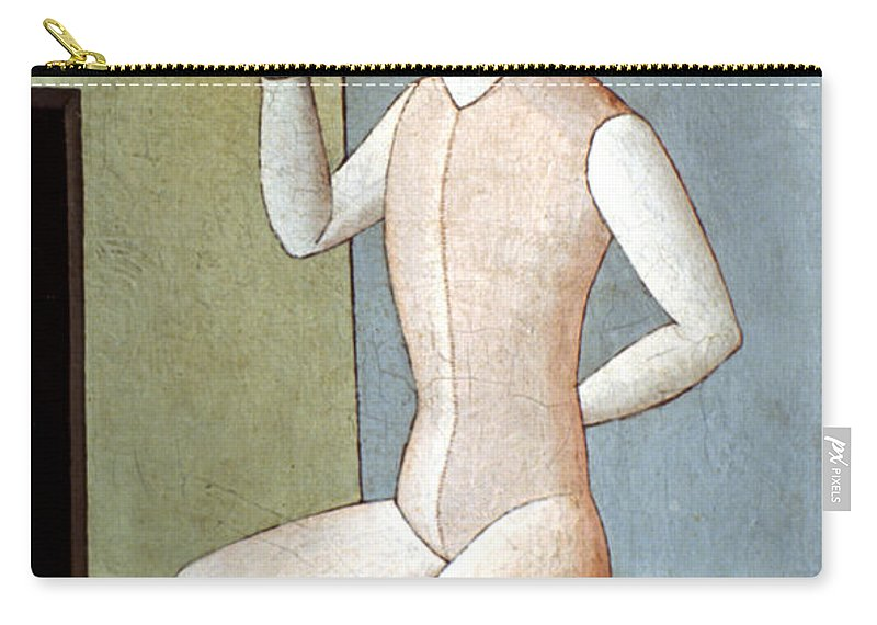 20th Century Carry-all Pouch featuring the photograph Carra: Idol, 1917 by Granger