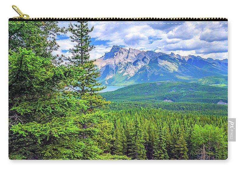 East Carry-all Pouch featuring the photograph Cascade Mountain by Matthew Kittens