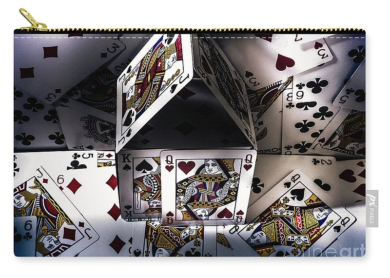 Building Carry-all Pouch featuring the photograph Casino House by Jorgo Photography - Wall Art Gallery