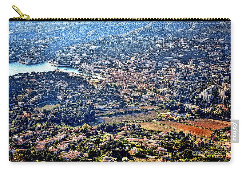 Cassis Carry-all Pouch featuring the photograph Cassis by Olivier Le Queinec
