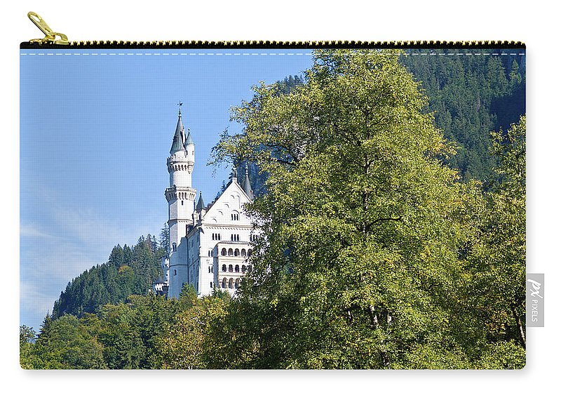 Schloss Carry-all Pouch featuring the photograph Castle 4 by Bernard Barcos