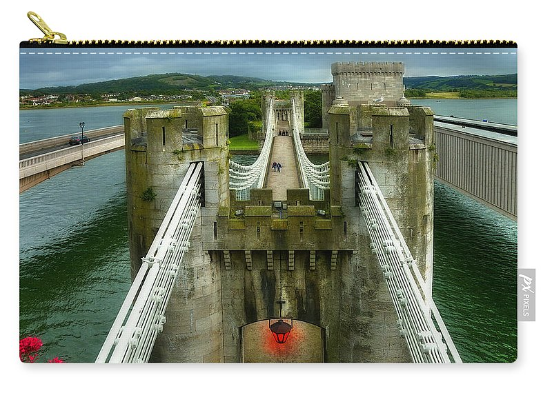 Ancient Carry-all Pouch featuring the photograph Castle by Svetlana Sewell