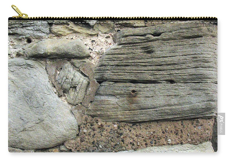 Castle Carry-all Pouch featuring the photograph Castle Walls by Amanda Barcon