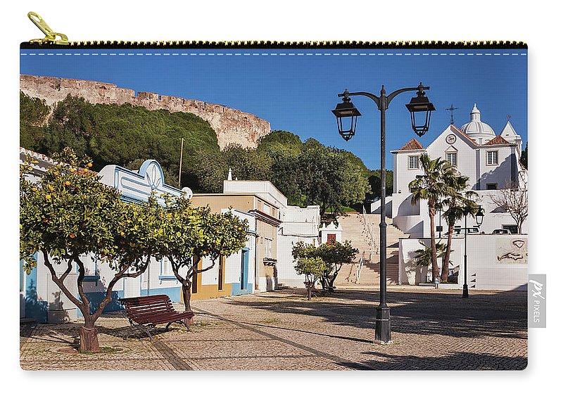 Castro Marim Carry-all Pouch featuring the photograph Castro Marim - Algarve, Portugal by Barry O Carroll