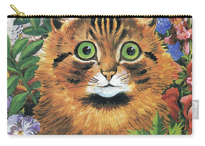 68c12c78842 Cat Study Carry-all Pouch for Sale by Louis Wain