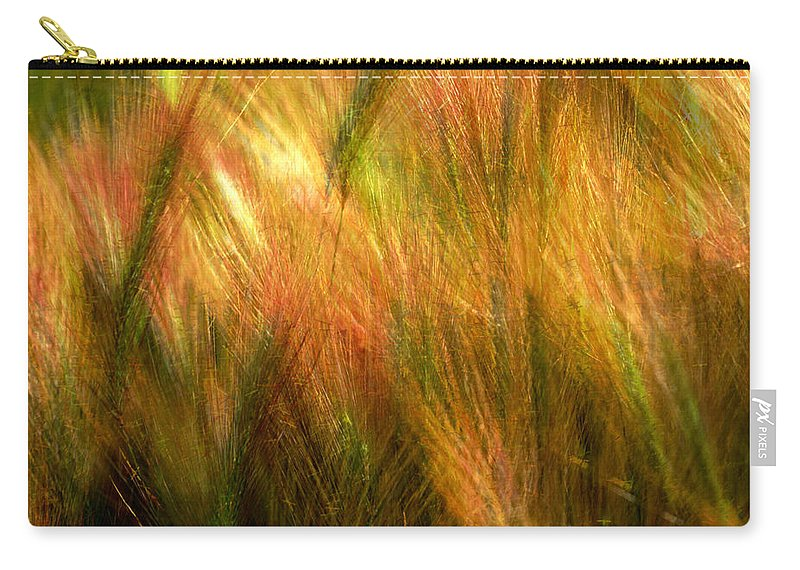 Abstract Carry-all Pouch featuring the photograph Cat Tails by Paul Wear