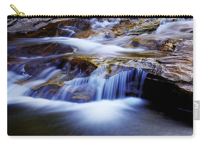 Chad Dutson Carry-all Pouch featuring the photograph Cataract Falls by Chad Dutson