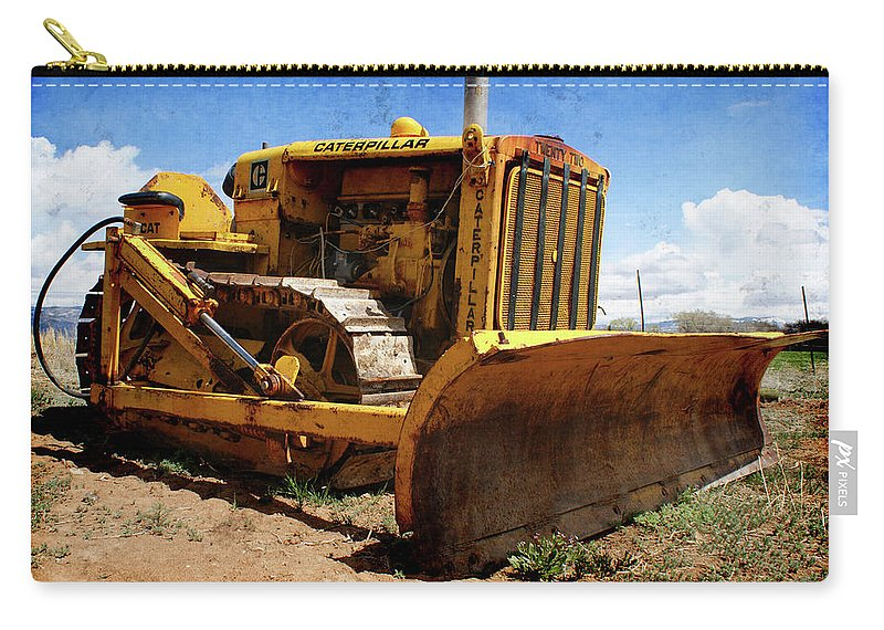 Caterpillar Twenty Two Carry-all Pouch featuring the photograph Caterpillar Twenty Two by Ernie Echols