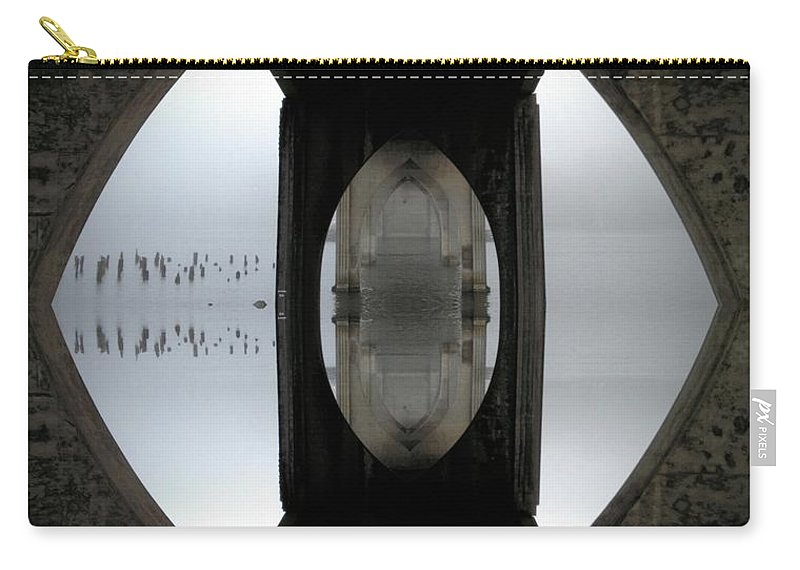 Cathedral Carry-all Pouch featuring the photograph Cathedral Bridge by Rachel Dunn