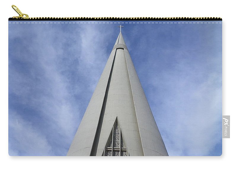 Cathedral Carry-all Pouch featuring the photograph Cathedral Minor Basilica Our Lady of Glory by Bruna Lima