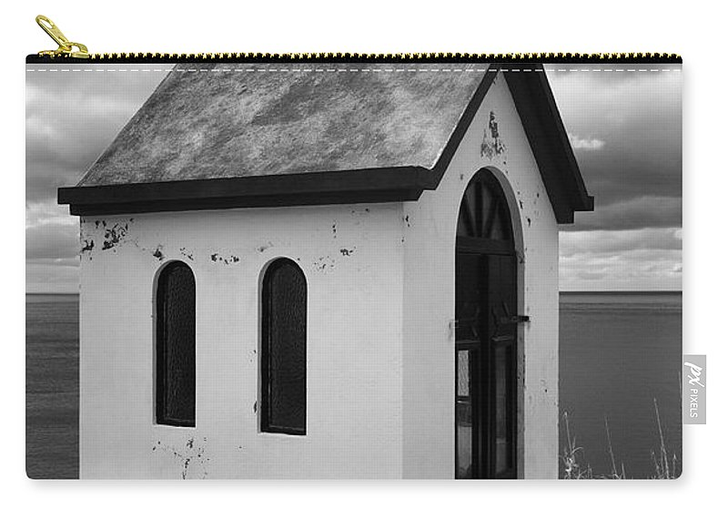 Azores Carry-all Pouch featuring the photograph Catholic Chapel by Gaspar Avila