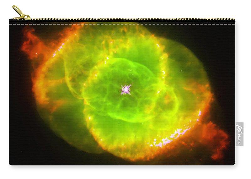 Nebula Carry-all Pouch featuring the photograph Cat's Eye Nebula by Jennifer Rondinelli Reilly - Fine Art Photography