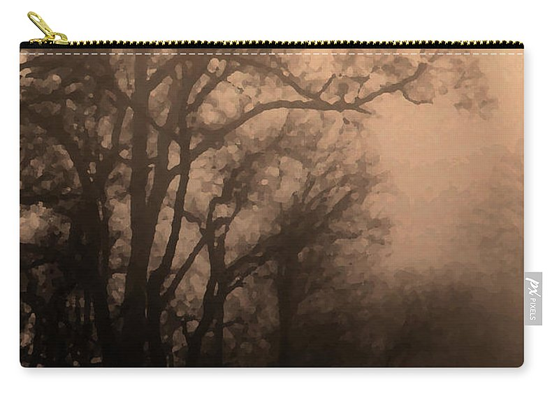 Soft Carry-all Pouch featuring the photograph Caught Between Light And Dark by Amanda Barcon