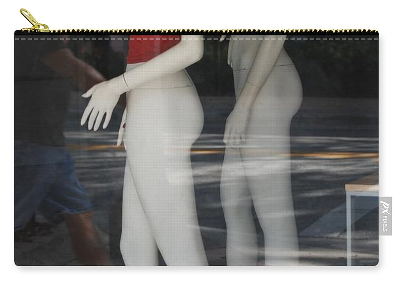 Pop Art Carry-all Pouch featuring the photograph Caught Ya Looking by Rob Hans