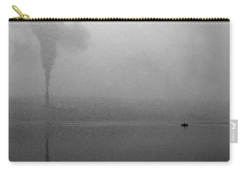 Solitude Carry-all Pouch featuring the photograph Cayuga Solitude by Jean Macaluso