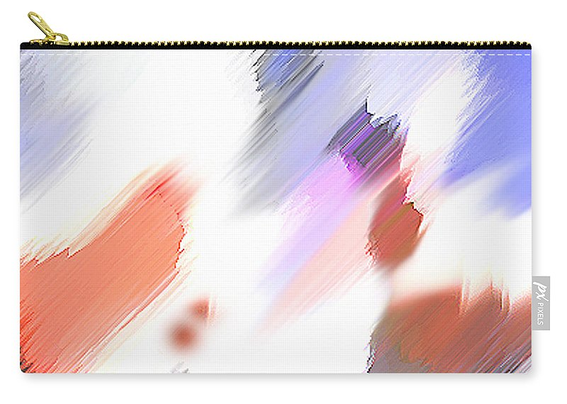 Digital Art Water Color Watercolor Light Color Carry-all Pouch featuring the painting Celebration by Anil Nene