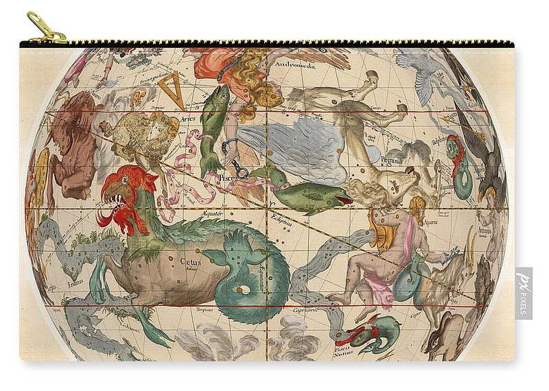 Celestial Map - Constellations - Pisces, Aries, Aquarius, Pegasus - on constellation sky map, old sky map, printable sky map, celestial sky map, dark sky map,
