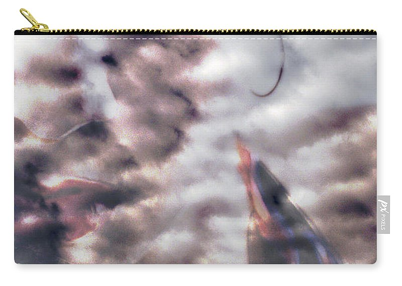 Clay Carry-all Pouch featuring the photograph Celestial Visions by Clayton Bruster