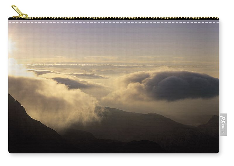 Alps Carry-all Pouch featuring the photograph Celestial Wanderers by Konstantin Dikovsky