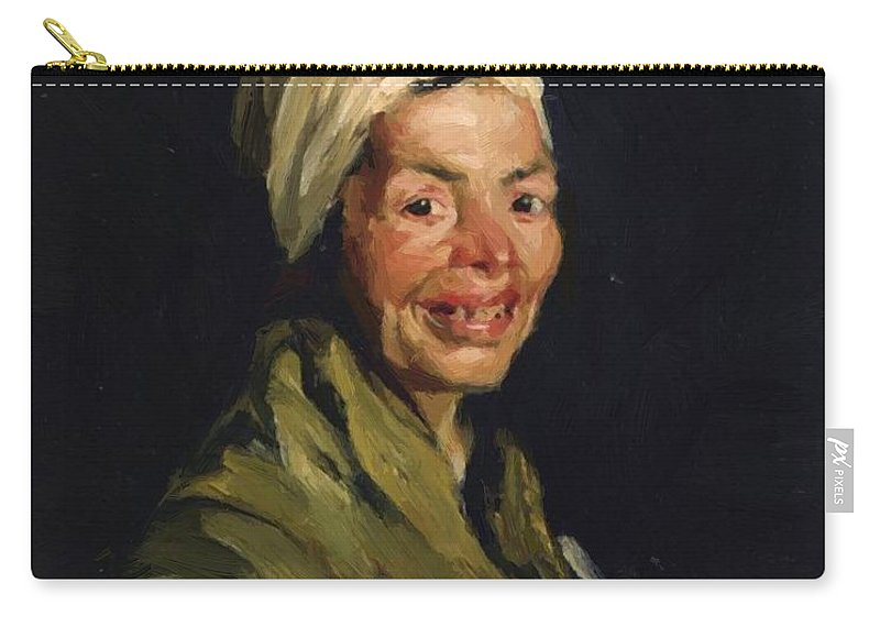 Celestina Carry-all Pouch featuring the painting Celestina 1908 by Henri Robert
