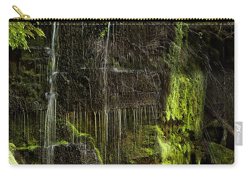 Idaho Carry-all Pouch featuring the photograph Centennial Falls by Leland D Howard
