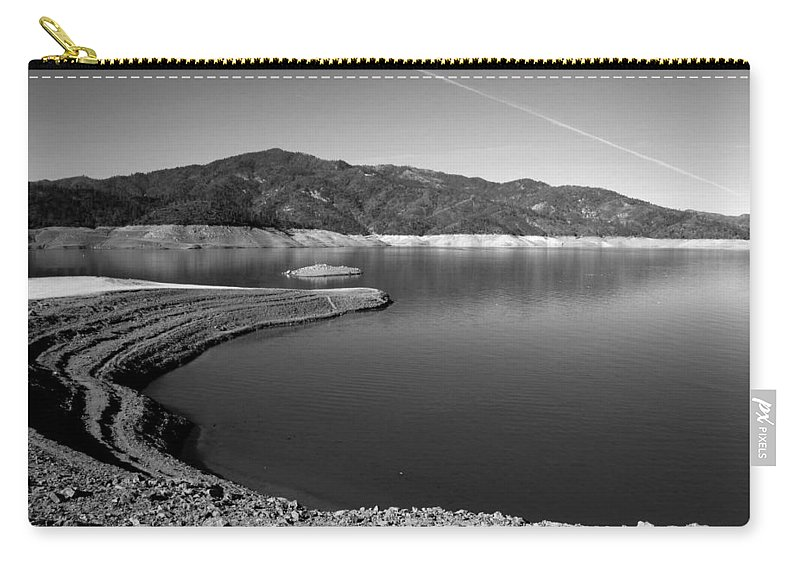 Centimudi Carry-all Pouch featuring the photograph Centimudi In Black And White by Joyce Dickens