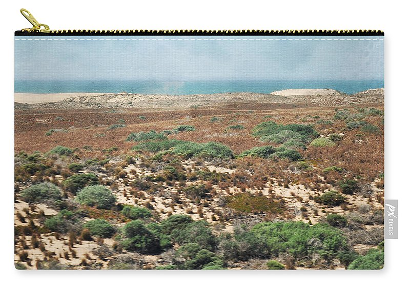 San Luis Obispo Carry-all Pouch featuring the photograph Central Coast Sand Dunes II by Kyle Hanson