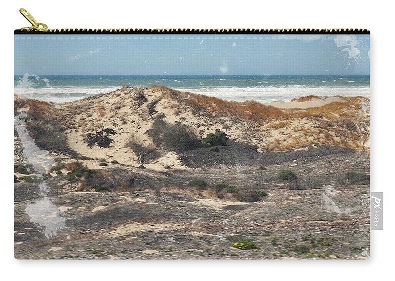 San Luis Obispo Carry-all Pouch featuring the photograph Central Coast Sand Dunes by Kyle Hanson