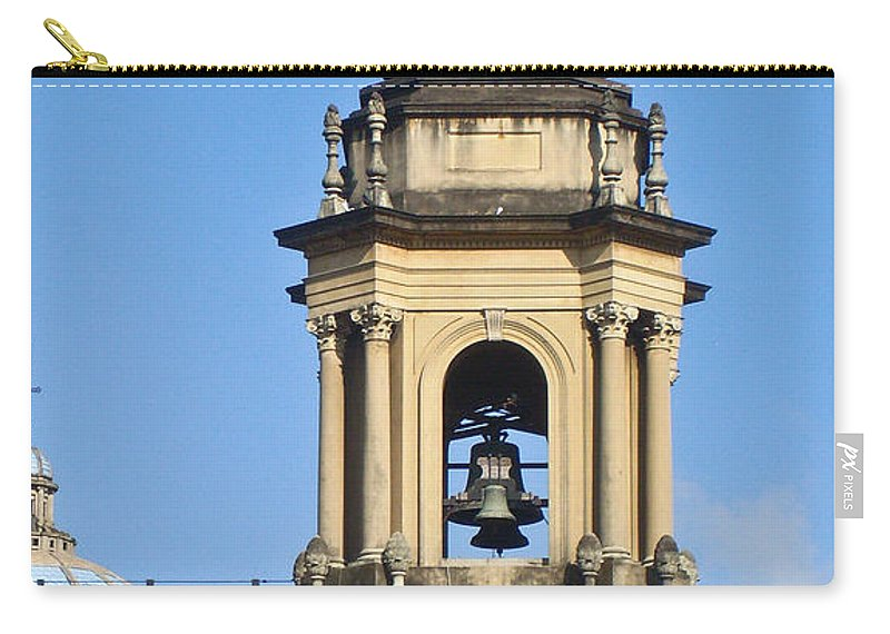 Central Carry-all Pouch featuring the photograph Central Park Metropolitan Cathedral by Douglas Barnett