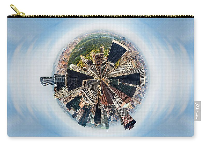 Megacity Carry-all Pouch featuring the photograph Eye Of New York by Az Jackson