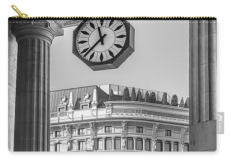 Italy Carry-all Pouch featuring the photograph Central Station Milan 3 by Wolfgang Stocker