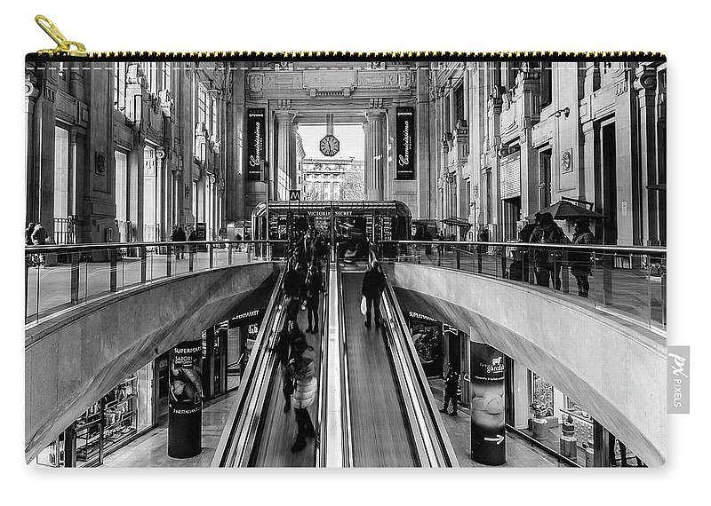 Italy Carry-all Pouch featuring the photograph Central Station Milan by Wolfgang Stocker