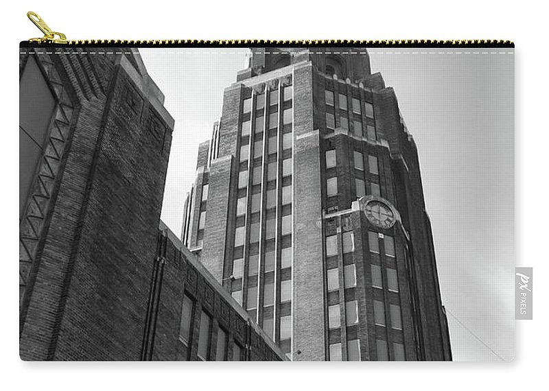 Buildings Carry-all Pouch featuring the photograph Central Terminal 15142 by Guy Whiteley