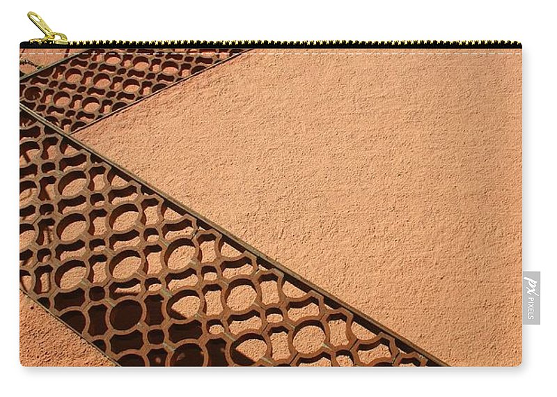 Stairs Carry-all Pouch featuring the photograph Cerbre France Stairs by Minaz Jantz