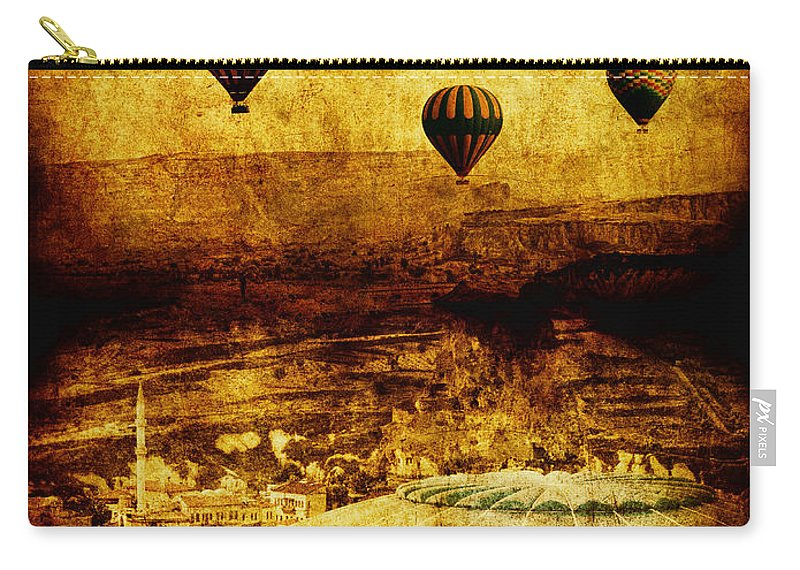 Hot Carry-all Pouch featuring the photograph Cerebral Hemisphere by Andrew Paranavitana