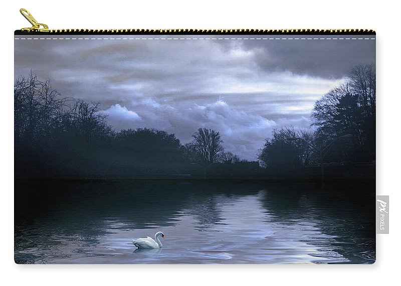 Nature Carry-all Pouch featuring the photograph Cerulean Skies by Jessica Jenney