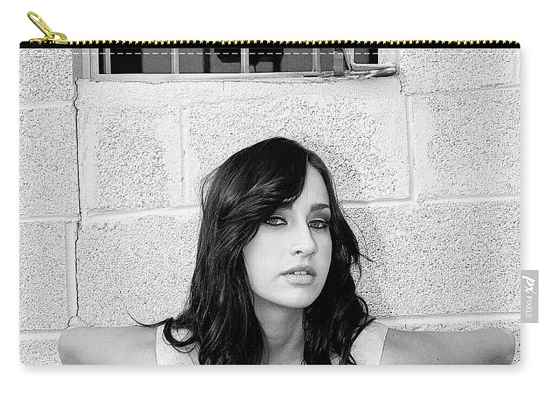 Marika Carry-all Pouch featuring the photograph Cesira Palm Springs by William Dey
