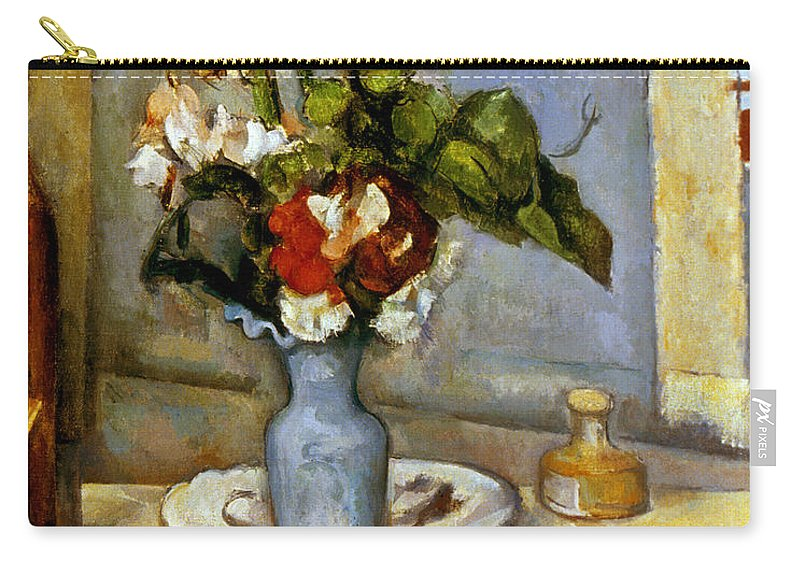 Cezanne Blue Vase 1885 87 Carry All Pouch For Sale By Granger
