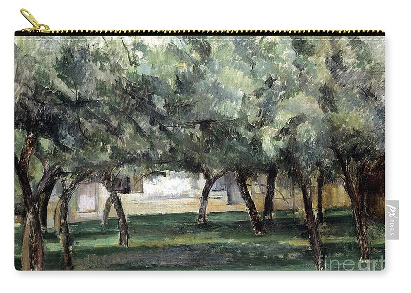 19th Century Carry-all Pouch featuring the photograph Cezanne: Le Clos Normand by Granger