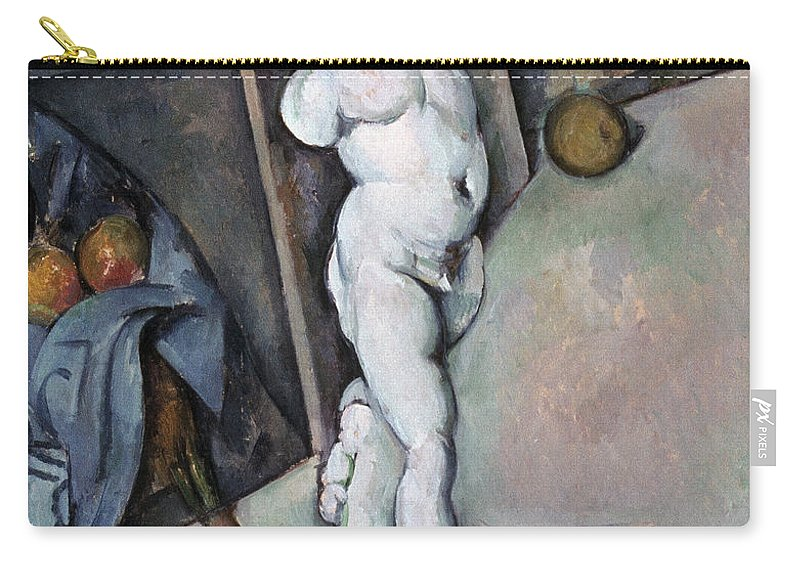 1895 Carry-all Pouch featuring the photograph Cezanne: Sill Life, C1895 by Granger