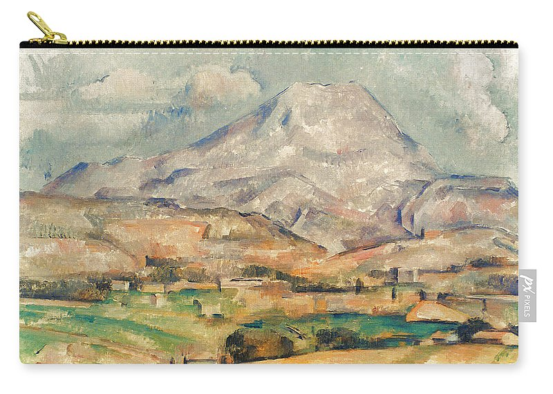 1897 Carry-all Pouch featuring the photograph Cezanne: St. Victoire, 1897 by Granger